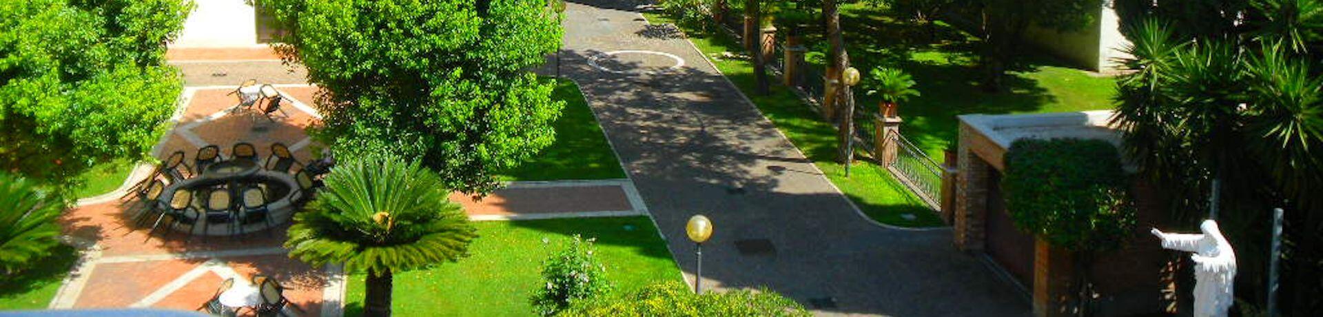 Istituto Sacro Cuore Roma Scuola Sacro Cuore - Panoramica giardino dall'alto